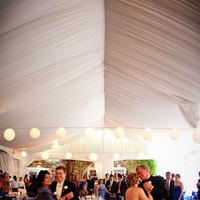 Reception, Flowers & Decor, Wedding Dresses, Fashion, white, blue, black, silver, dress
