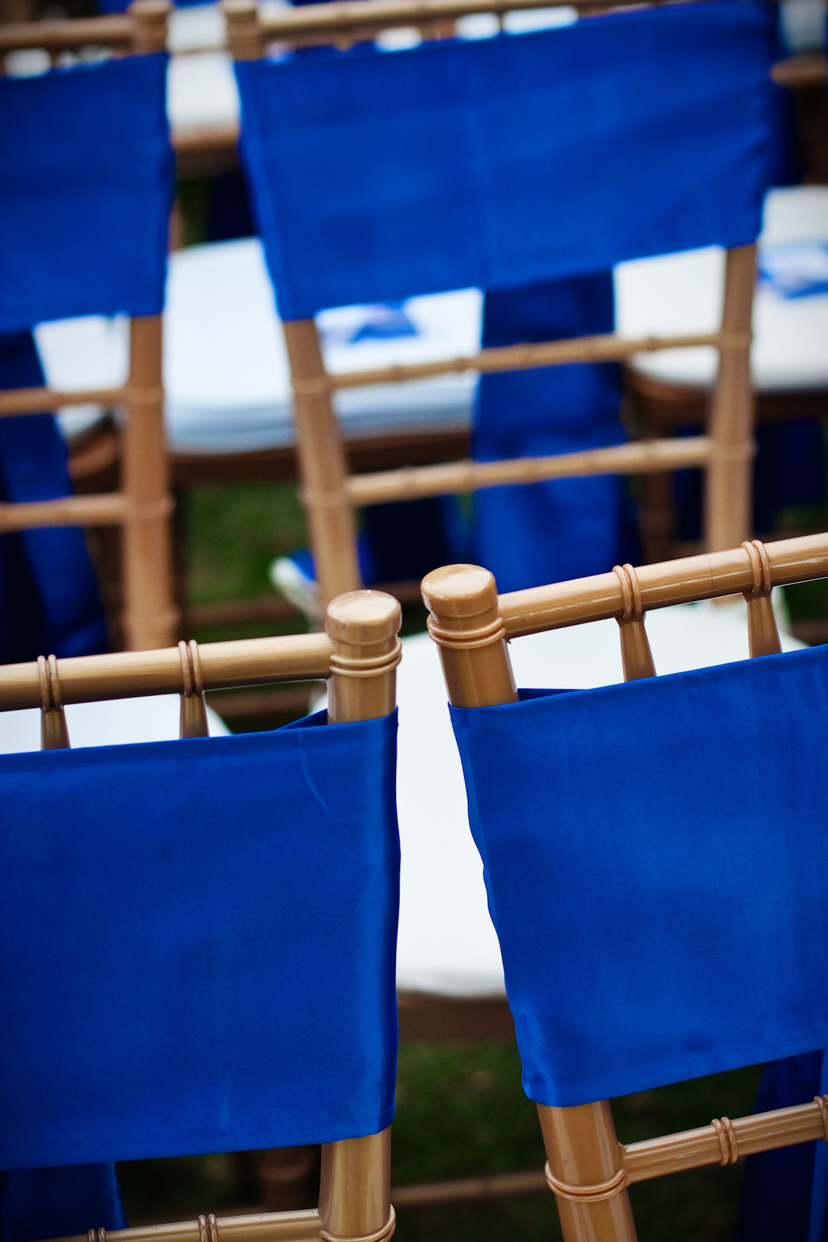 Ceremony, Reception, Flowers & Decor, blue, Chair, Linens, Ties
