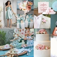 pink, blue, Inspiration board