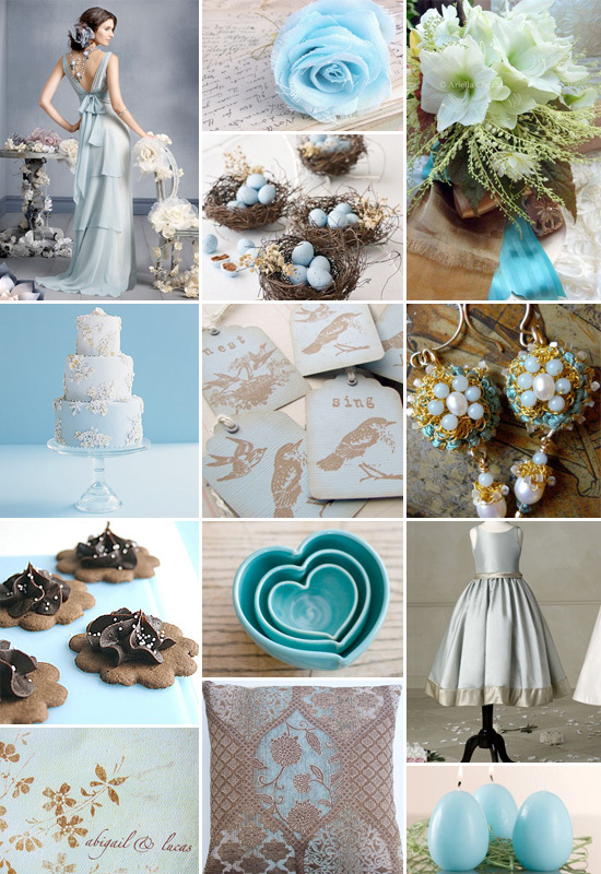 Reception, Flowers & Decor, white, blue, Flowers, Inspiration board