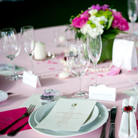 Reception, Flowers & Decor, pink, green, Centerpieces, Flowers, Centerpiece, Menu, Cards, Wedding, Gift, Ring, Table, Napkin, Place, Inspiration board