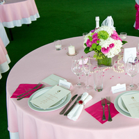 Reception, Flowers & Decor, Stationery, white, pink, green, Bride Bouquets, Bride, Candles, Invitations, Flowers, Groom, Rings, Menus, Cards, Wedding, Table, And, Napkin, Place, Butterflies, Decoration, Stationary, Crystals, Beads