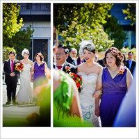 Beauty, Ceremony, Flowers & Decor, Jewelry, Wedding Dresses, Shoes, Fashion, white, orange, blue, green, dress, Makeup, Ceremony Flowers, Bride Bouquets, Bride, Flowers, Wedding, Hair, Flower Wedding Dresses