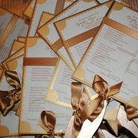 Ceremony, Flowers & Decor, Stationery, Ceremony Programs, Programs, Wedding