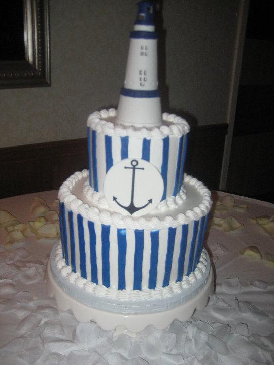 Cakes, cake, Nautical