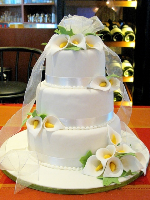 Cakes, cake, Calla, Lilly