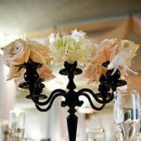 Reception, Flowers & Decor, Centerpieces, Centerpiece, Candelabra