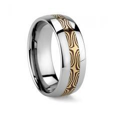 Jewelry, Band, Mens, Tungsten, Inlay
