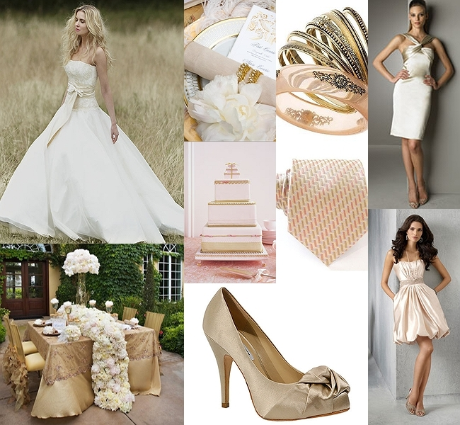 pink, gold, Inspiration board