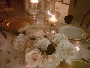 Reception, Flowers & Decor, pink, gold, Flowers, Inspiration board