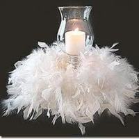 Reception, Flowers & Decor, Centerpieces, Centerpiece, Candle, Lamp, Hurrican