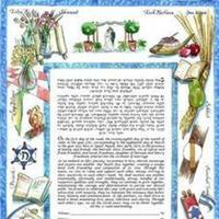 Ceremony, Flowers & Decor, Stationery, white, blue, Invitations