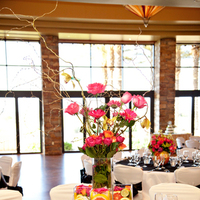Flowers & Decor, pink, green, Centerpieces, Flowers, Centerpiece