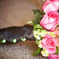 Flowers & Decor, pink, green, Flowers