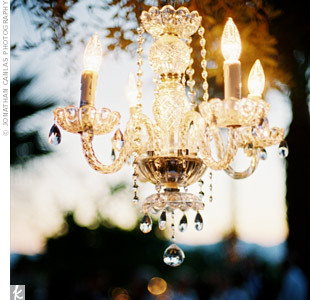 Reception, Flowers & Decor, white, silver, gold, Lighting, Outdoor, Chandelier, Crystals