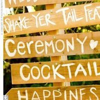 Reception, Flowers & Decor, brown, Rustic, Rustic Wedding Flowers & Decor, Sign, Directions