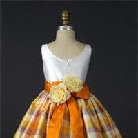 Flowers & Decor, Wedding Dresses, Fashion, white, yellow, brown, gold, dress, Flower, Girl