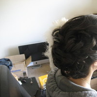 Beauty, Chignon, Updo, Hair