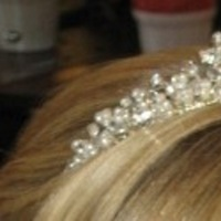 Beauty, Jewelry, white, silver, Tiaras, Hair, Tiara, Crystal, Pearl, Crown
