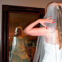Wedding Dresses, Veils, Fashion, white, dress, Bride, Veil