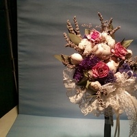 Flowers, Bouquet, Arrangement, Dried, Garlic, Flowers & Decor, Bride Bouquets