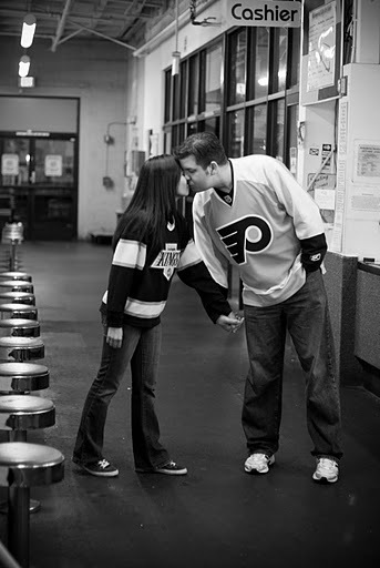 Engagement, E-pic, Hockey