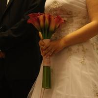 Ceremony, Flowers & Decor, Wedding Dresses, Fashion, pink, green, dress, Ceremony Flowers, Flowers, Flower Wedding Dresses