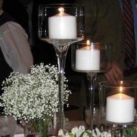 Reception, Flowers & Decor, white, green, Flowers