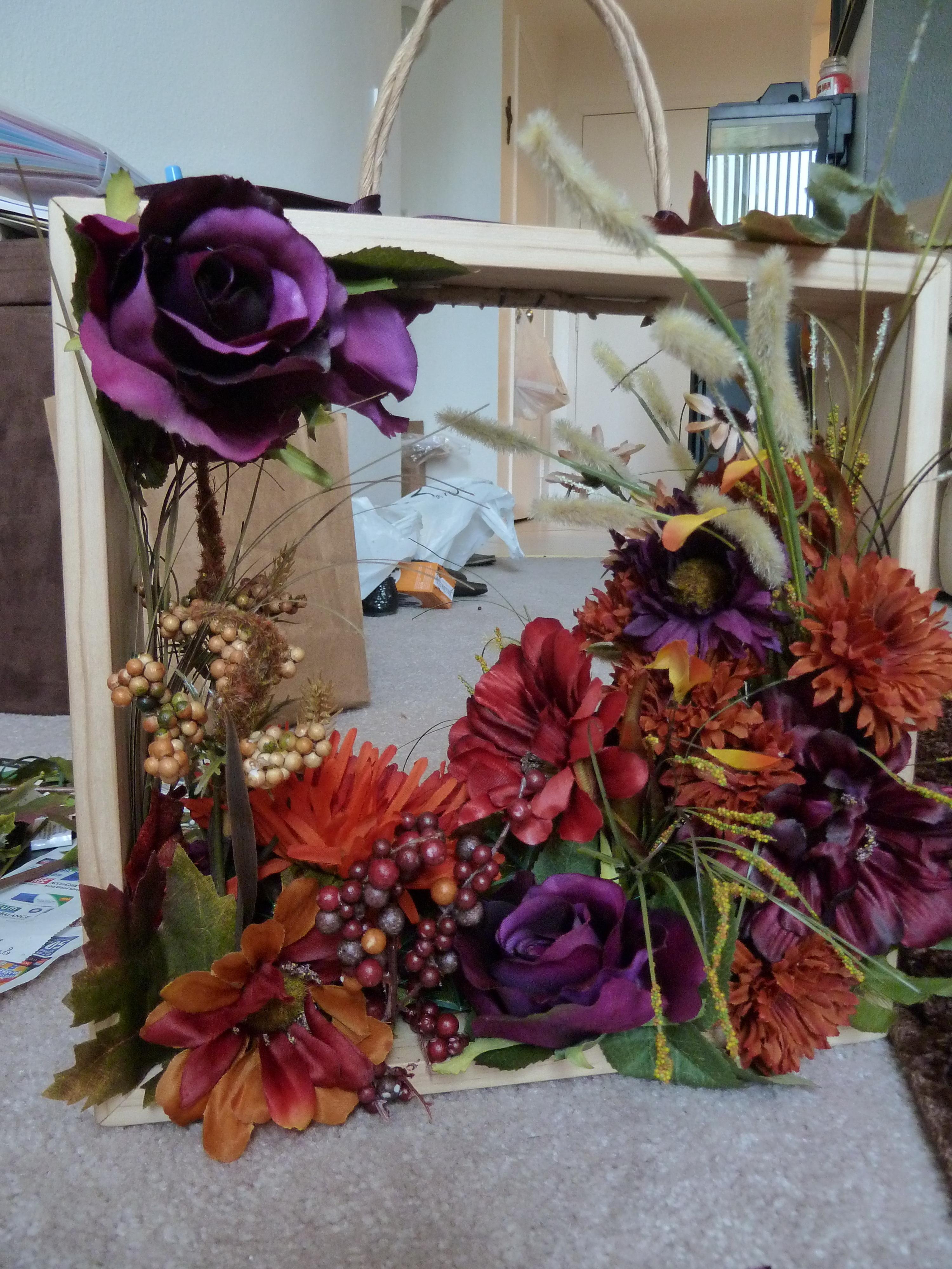 Flowers & Decor, Rustic, Flower, Girl, Box