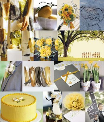 yellow, Inspiration board