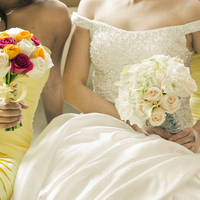 Flowers & Decor, yellow, silver, Flowers