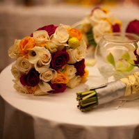 Ceremony, Reception, Flowers & Decor, white, yellow, pink, silver, Ceremony Flowers, Flowers