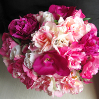Flowers & Decor, white, pink, purple, Flowers, Bouquets, Natural, Touch