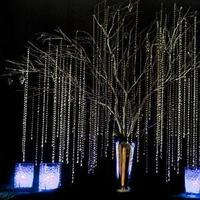 Ceremony, Reception, Flowers & Decor, white, purple, green, brown, black, Ceremony Flowers, Flowers, Branches, Tree, Club, Inspiration board, Lights, Country, Manzanita, Wishing, Bling