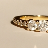 Jewelry, yellow, gold, Engagement Rings, Ring, Diamond