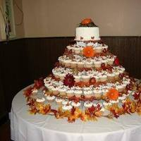 Reception, Flowers & Decor, Cakes, white, yellow, orange, red, green, brown, cake, Inspiration board