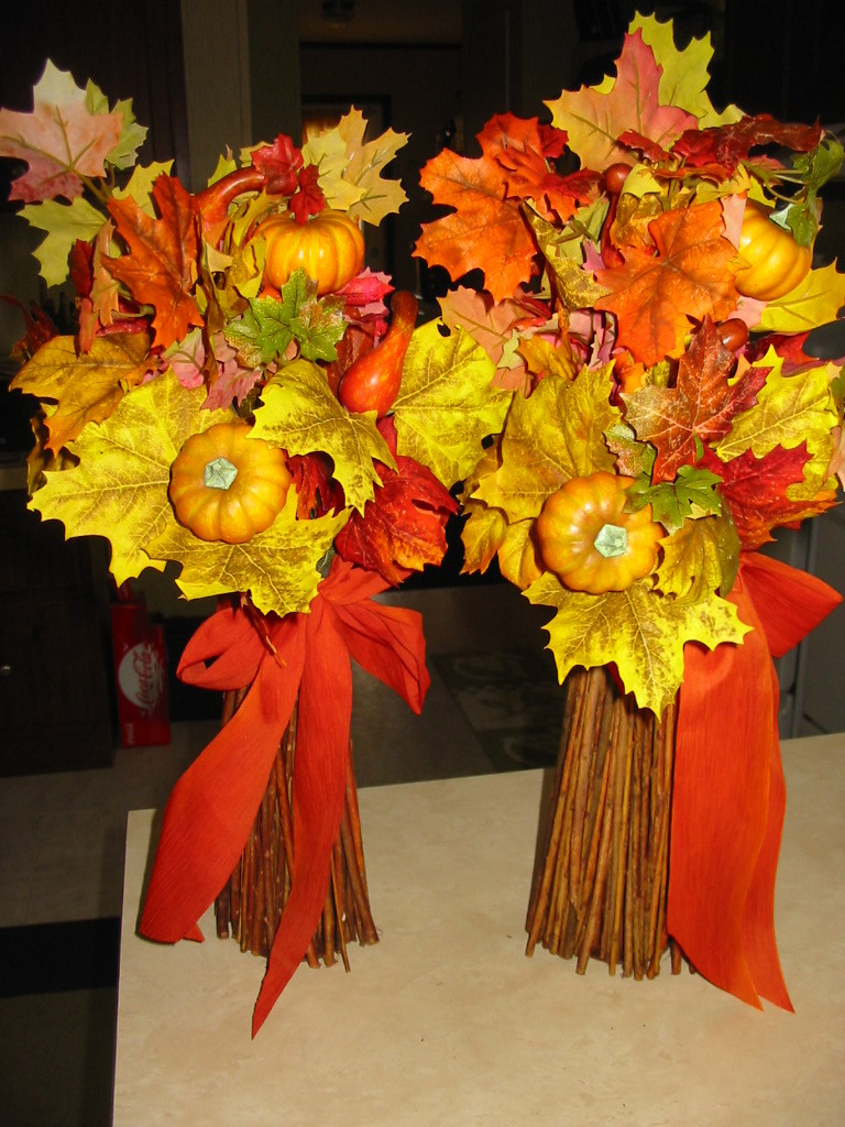 Flowers & Decor, Decor, Fall, Bouquet, Autumn