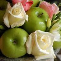 Reception, Flowers & Decor, pink, green, Flowers