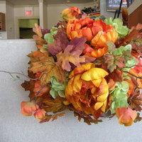 Ceremony, Flowers & Decor, yellow, orange, green, brown, Pew, Decorations