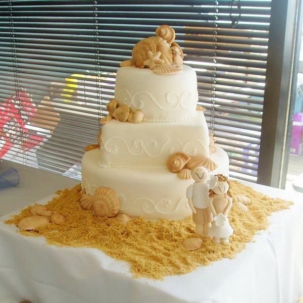Cakes, cake, Beach