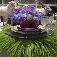 Flowers & Decor, purple, green, Flower, Centerpiece