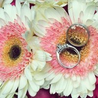 Flowers & Decor, Jewelry, white, pink, Flowers, Rings
