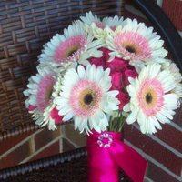 Flowers & Decor, Bridesmaids, Bridesmaids Dresses, Fashion, white, pink, Bride Bouquets, Bridesmaid Bouquets, Flowers, Brides, Flower Wedding Dresses