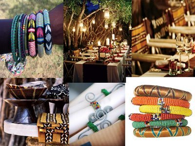 Wedding, Theme, Inspiration board, African