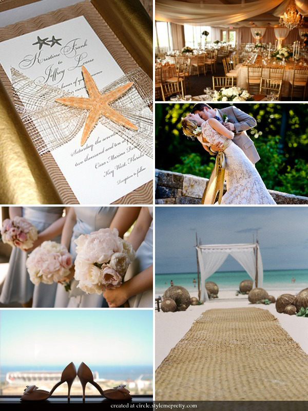Inspiration, Beach, Wedding, Board, African