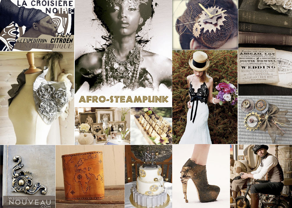 Beach, Wedding, Inspiration board, African