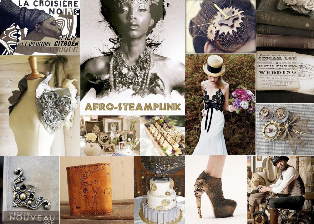Beach, Wedding, Inspiration board, African