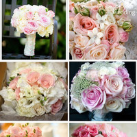 Flowers & Decor, white, pink, Flowers, Inspiration board