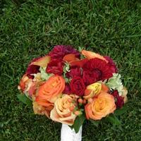 Flowers & Decor, yellow, orange, brown, Bride Bouquets, Flowers, Bouquet, Lace