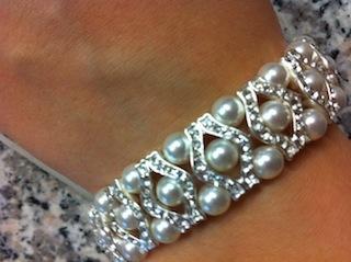 Jewelry, white, silver, Bracelets, Bracelet, Pearl